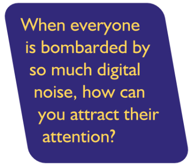 Zarywacz | When everyone is bombarded by so much digital noise, how can you attract their attention?